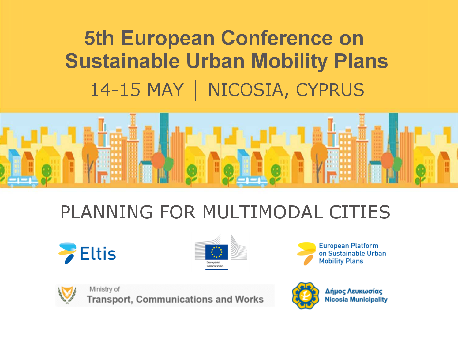 5th European Conference on Sustainable Urban Mobility Plans (SUMPs)
